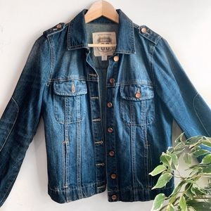 Worn once Route 66 jean jacket